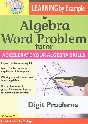 The Algebra Word Problem Tutor: Digit Problems