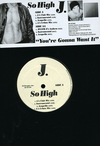 So High Vinyl Maxi Single
