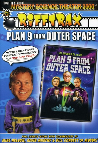 Rifftrax: Plan 9 From Outer Space [Fullscreen]