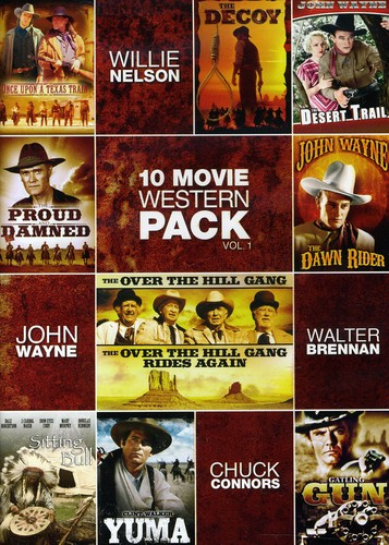 10-Movie Western Pack 1