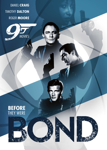Before They Were Bond - 9 Movies