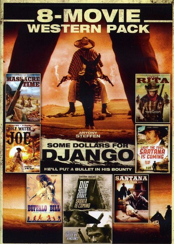 8-Movie Spaghetti Western Pack 2