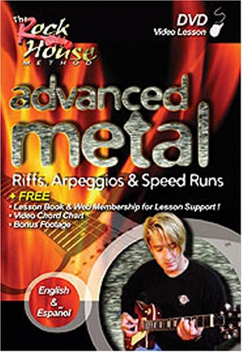 Rock House: Advanced Metal - 2nd Edition [Instructional]