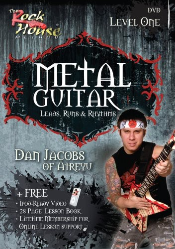 Metal Guitar Leads, Runs and Rhythms Level 1