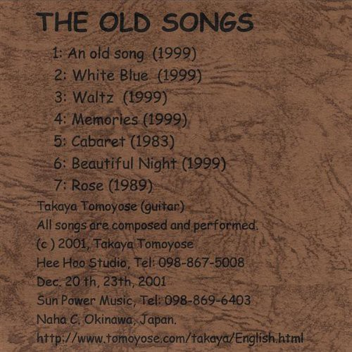 Old Songs:2002