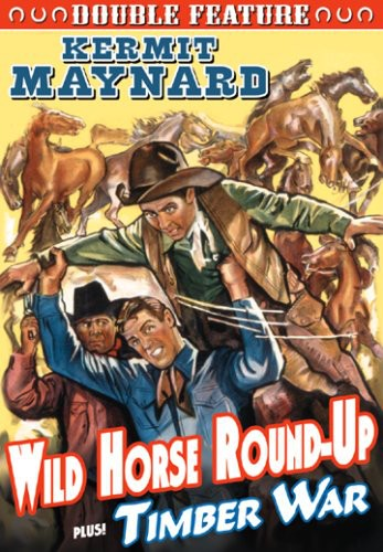 Wild Horse Round-Up/ Timber War: Double Feature [Black and White]
