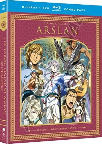The Heroic Legend Of Arslan: Dust Storm Dance - Season Two