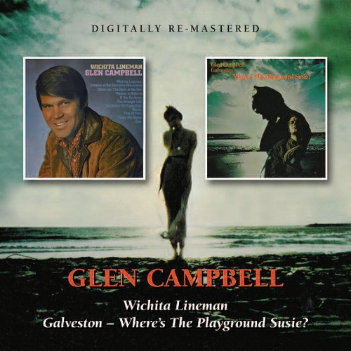 Wichita Lineman /  Galveston - Where's The Playground Susie? [Import]