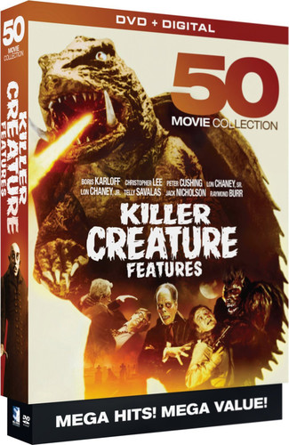 Killer Creature Features: 50 Movie MegaPack