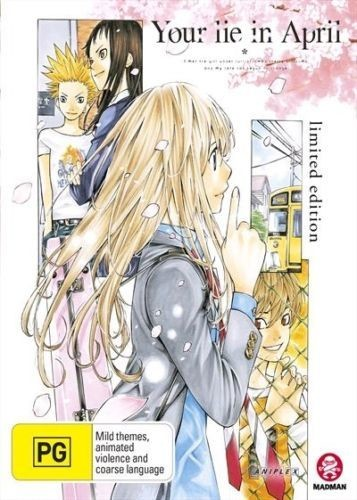 Your Lie in April Part 1: Eps 1-11 Limited Coll [Import]
