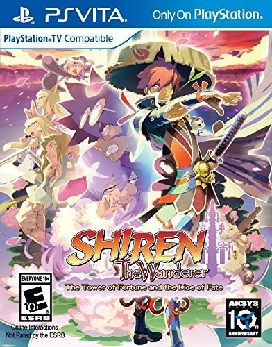 Shiren the Wanderer: The Tower of Fortune and Dice of Fate for PlayStation Vita