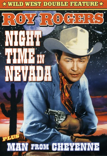 Night Time In Nevada/ Man From Cheyenne [B&W] [Double Feature]
