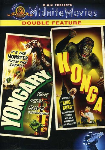 Yongary Monster From The Deep/ Konga [Midnite Movies Double Feature] [Sensormatic]