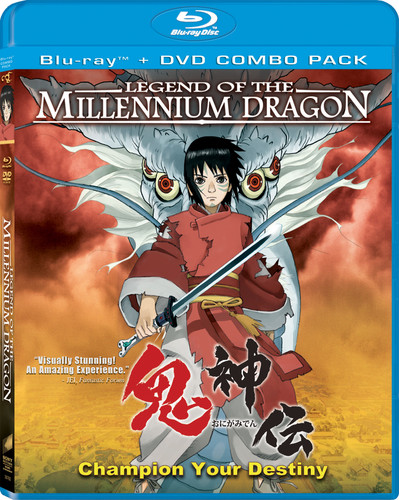 Legend Of The Millennium Dragon [Blu-ray/ DVD Combo] [2 Discs] [WS]