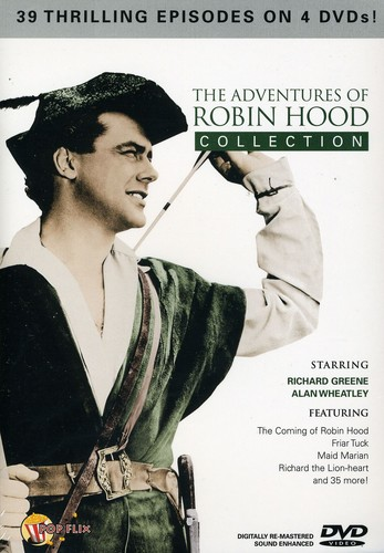 Adventures Of Robin Hood Collection [Fullscreen] [B&W]