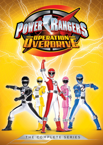 Power Rangers: Operation Overdrive - The Complete Series