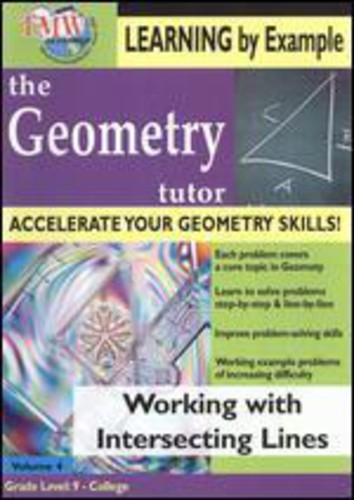 Working with Intersecting Lines: Geometry Tutor