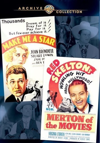 Wac Double Features: Make Me A Star/ Merton Of The Movies