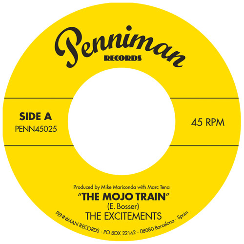 Mojo Train /  I'll Be Waiting