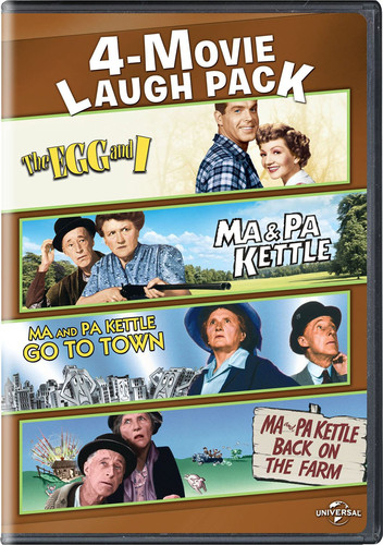 4-movie Laugh Pack: Egg and I/ Ma and Pa Kettle/ Ma and Pa Kettle Go ToTown/ Ma and Pa Kettle Back On The Farm