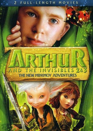 Arthur and The Invisibles 2 and 3: New Minimoy Adventure