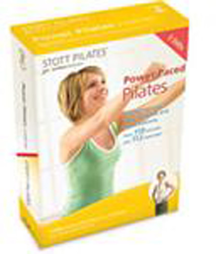 Stott Pilates: Power Paced Pilates 3 Dvd Set, Eng/ Fr