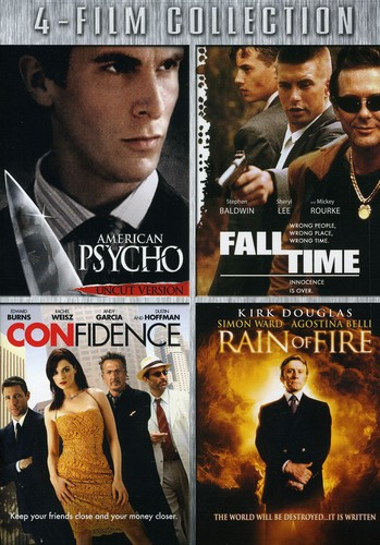 American Psycho/ Fall Time/ Confidence/ Rain of Fire [2 Discs]