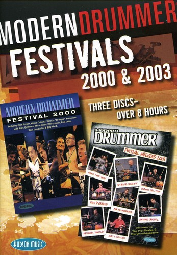 Modern Drummer Festivals 2000 and 2003 [3 Discs] [Instructional]