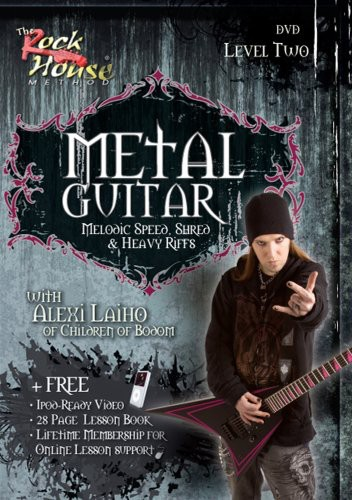 Metal Guitar, Melodic Speed, Shred and Heavy Riffs Level 2