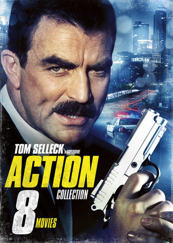 8-Movie Action Collection Featuring Tom Selleck