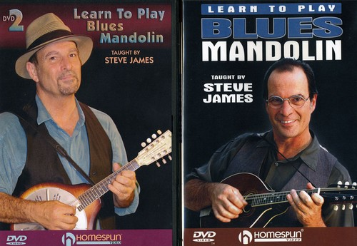 Learn To Play Blues Mandolin, Vol. 1 and 2