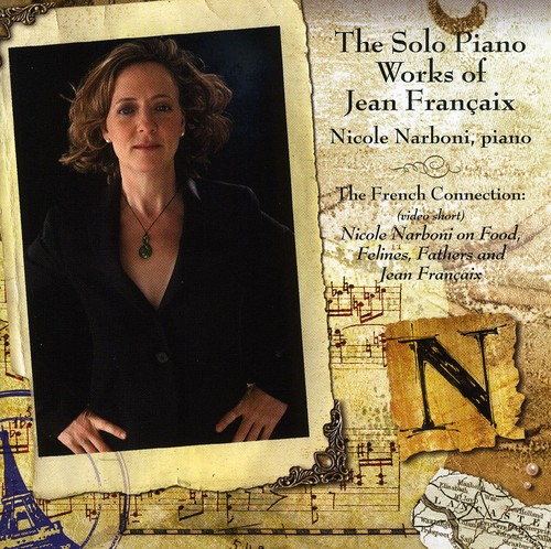Solo Piano Music of Jean Francaix
