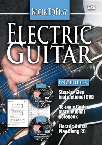 Begin To Play: Electric Guitar [With CD and Book]