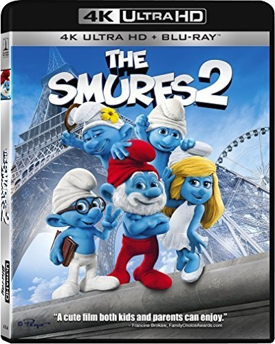 The Smurfs 2 [4K Ultra HD + Blu-ray]