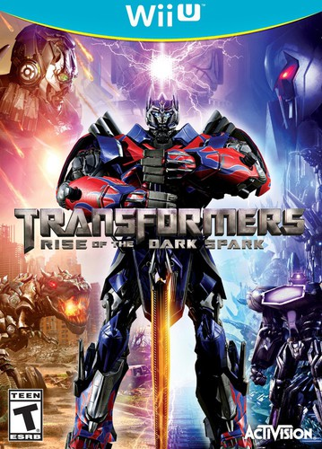 Transformers Rise of the Dark Spark for Nintendo Wii U