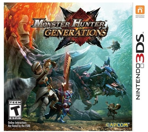 Monster Hunter Generations for Nintendo 3DS