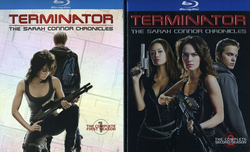 Terminator: The Sarah Connor Chronicles - Seasons 1 and 2 [WS] [8 Discs]