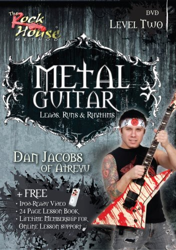 Metal Guitar Leads, Runs and Rhythms Level 2