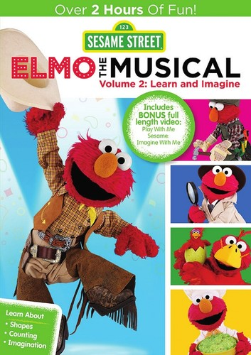 Sesame Street: Elmo the Musical: Volume 2: Learn and Imagine