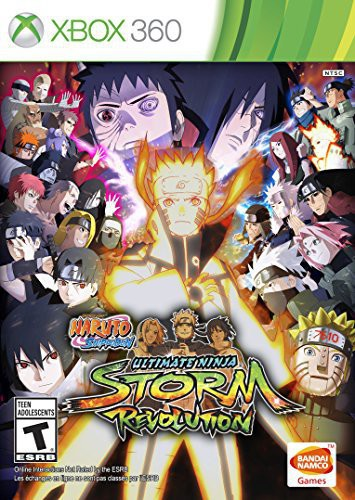 Naruto Shippuden: Ultimate Ninja Storm Revolution - Day One Edition for Xbox 360