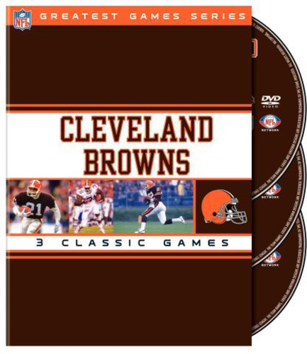 Cleveland Browns: NFL Greatest Games [Standard] [Digipak] [3 Discs]