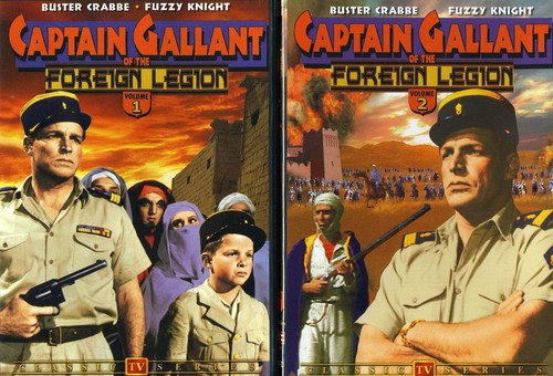 Captain Gallant of the Foreign Legion 1 & 2
