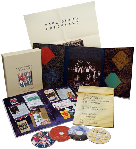 Graceland: 25th Anniversary Edition [Deluxe Edition] [Box Set] [2CD/ 2DVD]