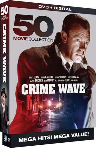 Crime Wave: 50 Movie MegaPack
