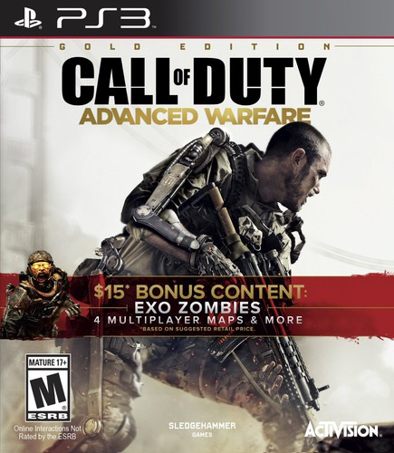 Call of Duty: Advanced Warfare - Gold Edition for Playstation 3