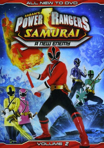 Power Rangers Samurai: A New Enemy: Volume 2