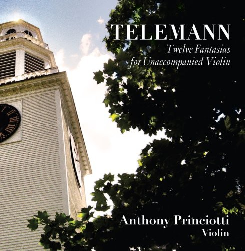 Telemann-Twelve Fantasias for Unaccompanied Violin