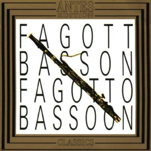 Fagott 1 Bassoon /  Son for Bassoon & Basso