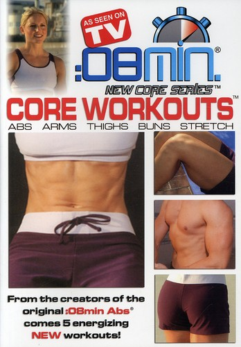 8 Minute Core Workouts: Abs Arms Thighs Buns &
