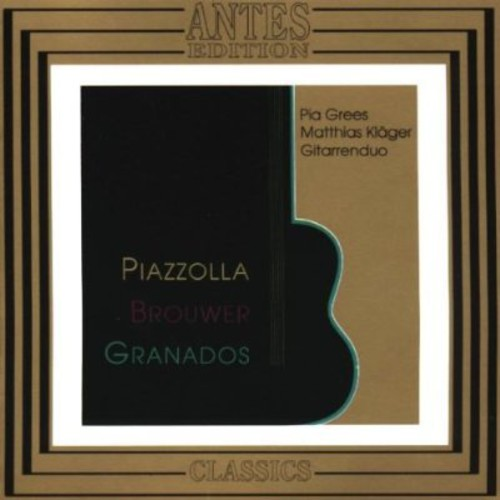 Works for Two Guitars /  Valses Poeticos